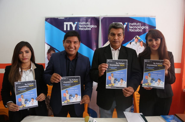 Tecnológico Yacuiba lanza la convocatoria para la primera admisión de la gestión 2019