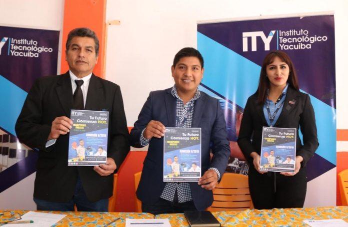 El Instituto Tecnológico Yacuiba anuncia la convocatoria para la segunda admisión de 2019