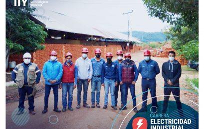 Visita técnica a la Cerámica Industrial EL LAPACHO