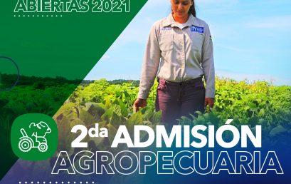 ¡Abrimos las Inscripciones para la carrera de #Agropecuaria.