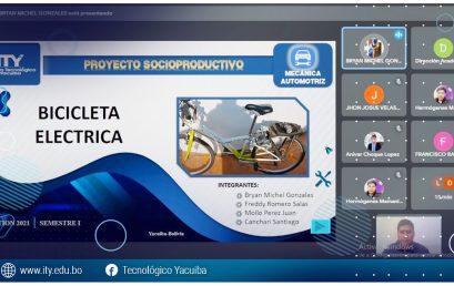 Defensa virtual de los perfiles de proyectos productivos