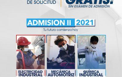 Admisión II – Gestión 2021