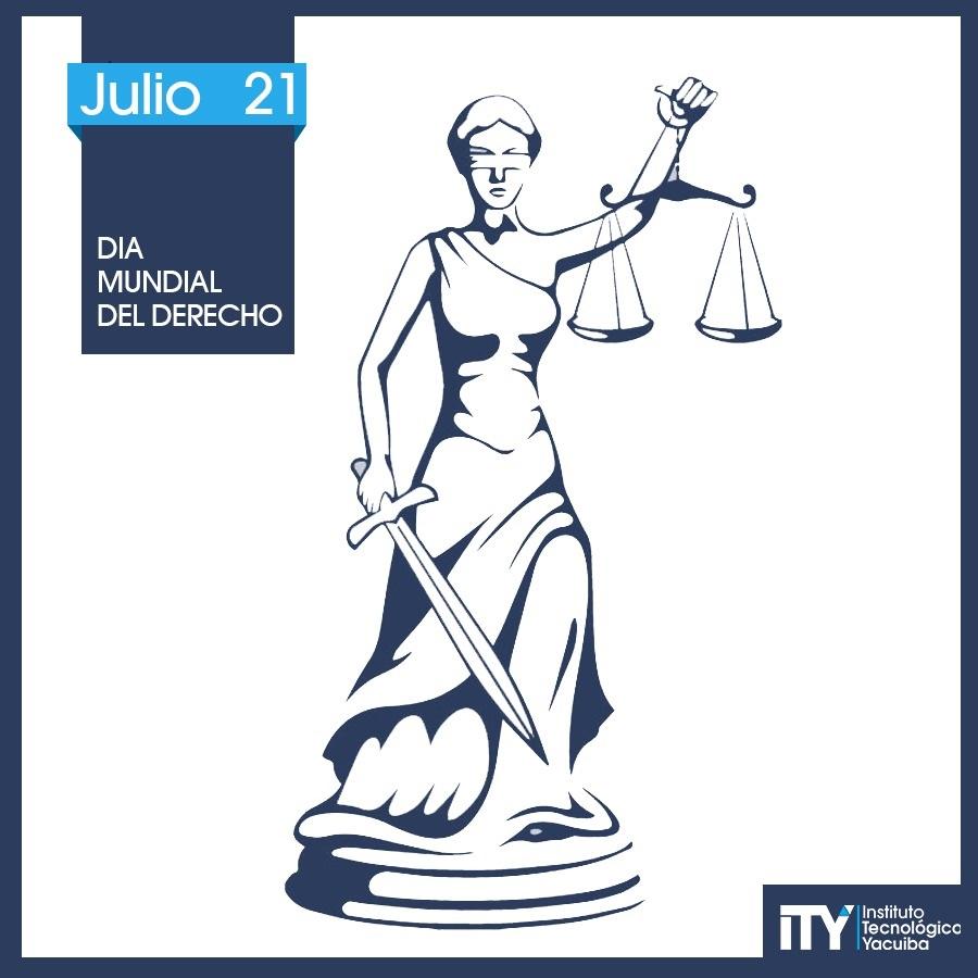 21 de Julio Día universal del Derecho