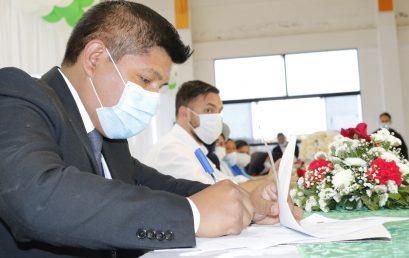 Firma de convenio de Cooperación Interinstitucional con el Ministerio de Gobierno